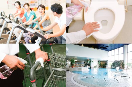 様々な業種や用途で電解水が活躍しています