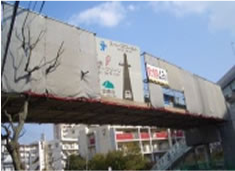 天神歩道橋補修工事