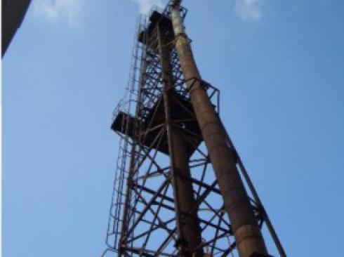 工場煙突メンテナンス