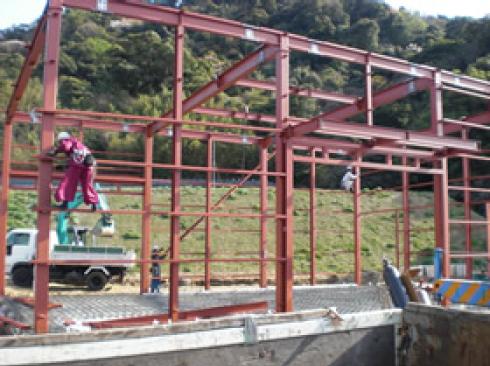 工場新築工事1