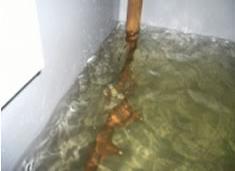工場内冷水タンク切替工事